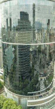 The building next to our apartment