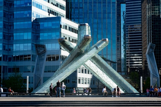 The Olympic Torch structure